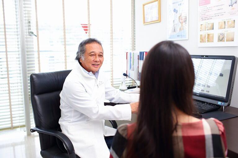 経験豊富なドクターに安心して任せられる